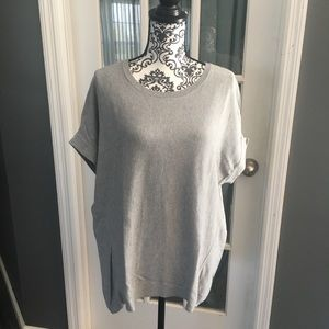 Loft Hi-Lo short sleeve sweater